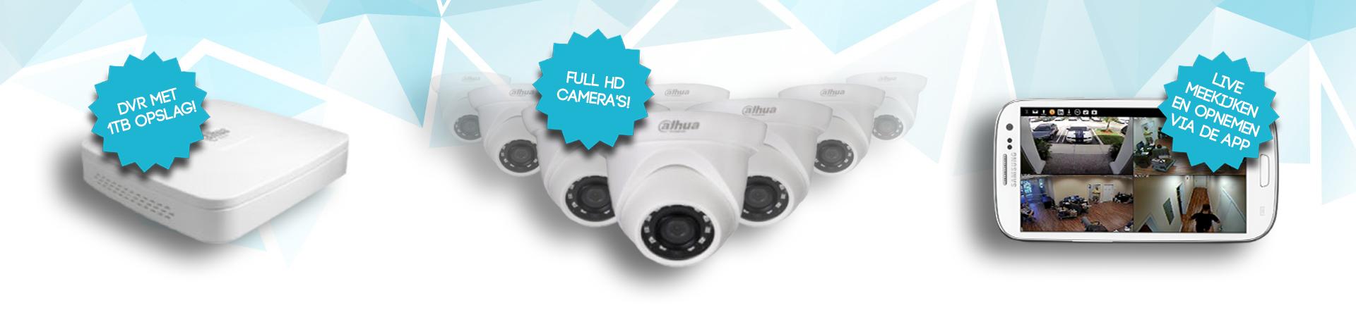 Forza camerabewaking pakketten