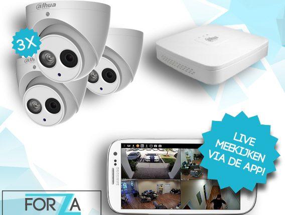 3 Camera 4MP