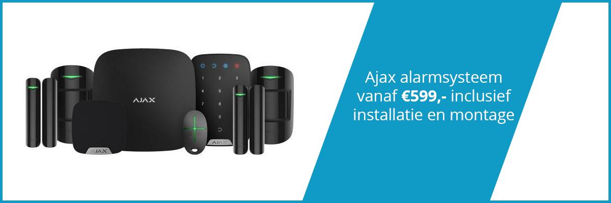 Ajax alarminstallatie Den Bosch