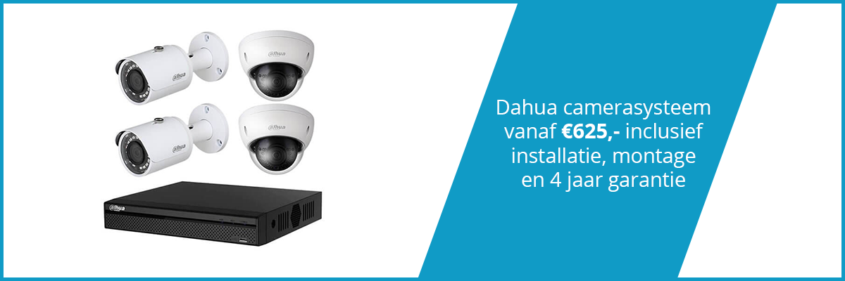 Camerasysteem Breda Dahua